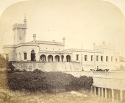 Front view of Mr Brett's house at Hosur, near Bangalore.